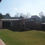 zahradní úpravy v Arnolci