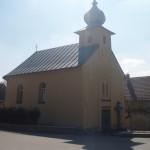 opravená kaple v obci Arnolec